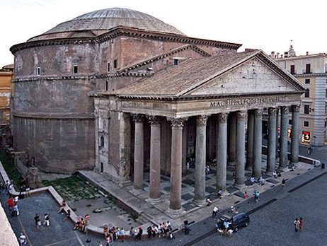 parthenon vs pantheon